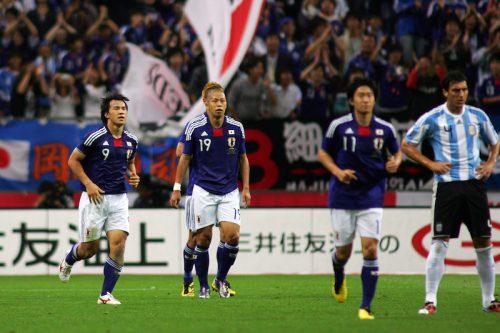 ●日本代表、苦手な南米相手に8年ぶり勝利…前回はメッシ擁するアルゼンチンから金星