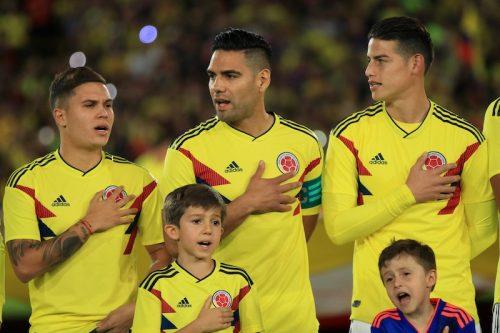 コロンビア、ハメスら主力出場も不発…エジプトとスコアレスドロー