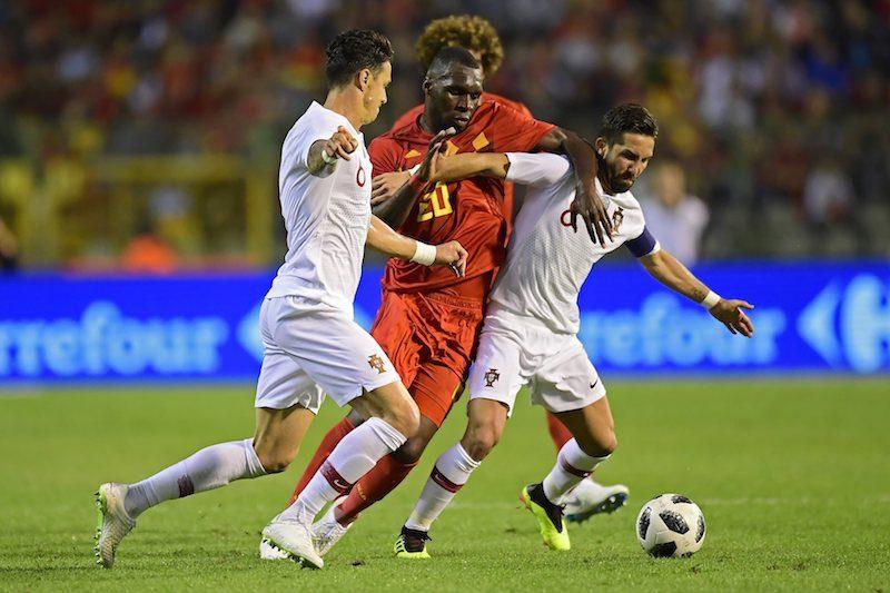 ベルギー対ポルトガル