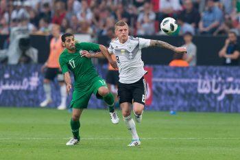 ドイツ対サウジアラビア