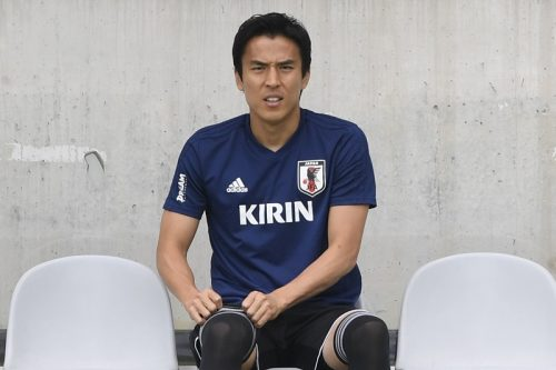 ●ベンチから戦況見守った長谷部、チーム状態は「右肩上がりに良くなっている」