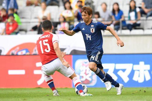 ●西野ジャパン初ゴールは乾貴士! 鮮やかな右足ミドル、アシストは香川