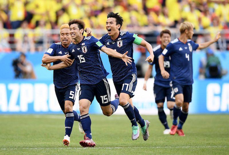 日本、コロンビアを破り白星発進! 香川PK弾&大迫決勝点で4年前の雪辱