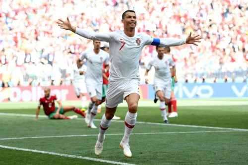 C・ロナウドがまたもゴール!…ポルトガルが勝利、モロッコは敗退が決定