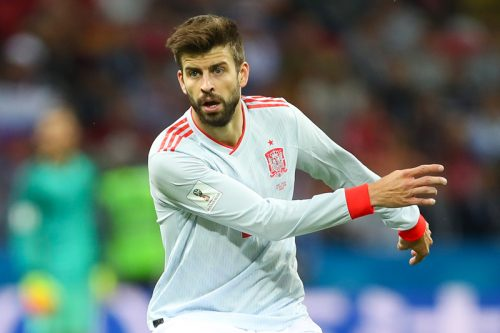 ●ピケ、代表通算100試合出場達成!「人生の全てはスペインとともに」