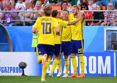 ●3発快勝のスウェーデンが逆転で首位通過! メキシコは敗れるも2位で突破