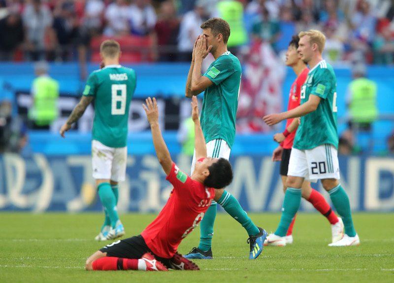 ドイツ 韓国に敗れ最下位でw杯終了 前回王者が3大会連続グループ敗退
