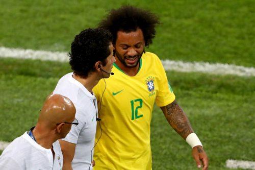 ●10分で交代のマルセロ、原因は脊椎の痛み…治療で回復、ブラジル連盟発表