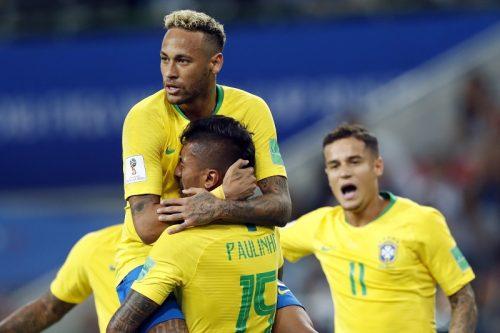 ●王座奪還狙うブラジル、完封勝利で首位突破! セルビアは敗退決定