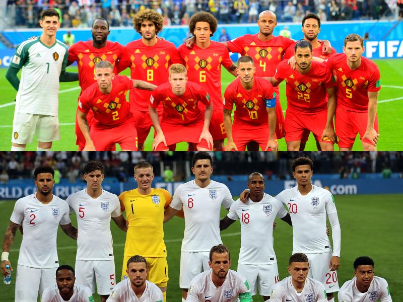 ベルギー代表、イングランド代表