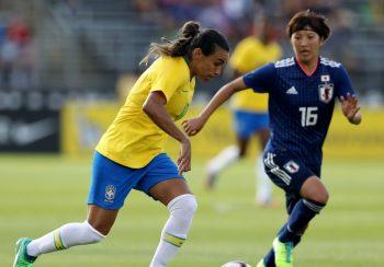 なでしこジャパン、ブラジル女子代表