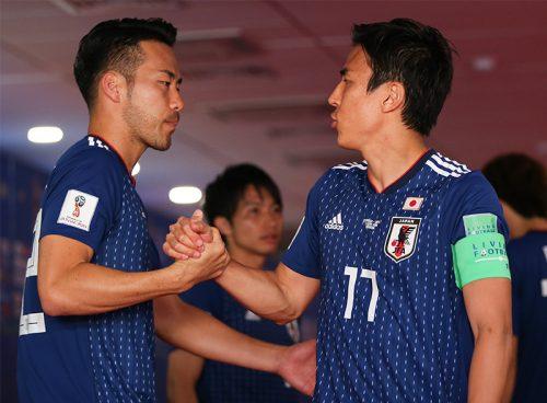 ●吉田が長谷部の代表引退に男泣き「本当に素晴らしいキャプテン」