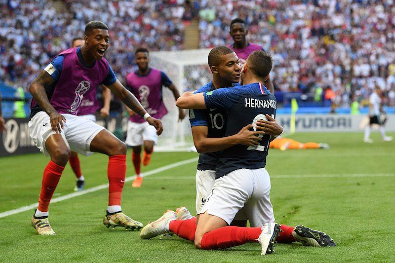 背番号10の位19歳FWムバッペがフランスをベスト8に導いた [写真]\u003dFIFA via Getty Images