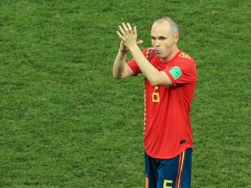 ●34歳イニエスタ、スペイン代表引退を表明…神戸での新たな挑戦に専念へ