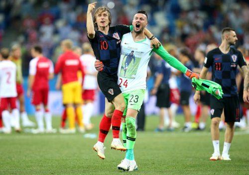 ●両守護神が好セーブ連発!…クロアチア、PK戦でデンマーク下し20年ぶりベスト8