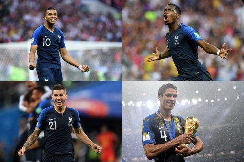 ●仏紙がロシアW杯のベスト11を発表! 優勝のフランスからは4人が選出
