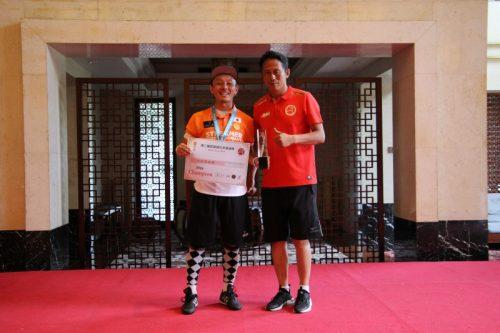 ●フットゴルフアジア杯、日本勢が男女ともに表彰台を独占