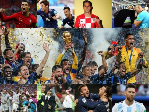 王者の惨敗、開催国の意地、VAR、追放、賭け、乱入…ロシアW杯で起きた16の出来事