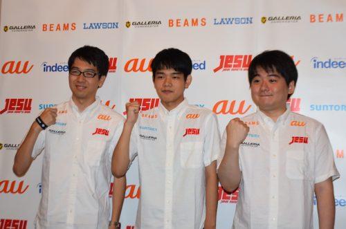 アジア大会に出場するeスポーツ選手が会見…ウイイレ日本代表のレバ選手「一番いい色のメダルを」