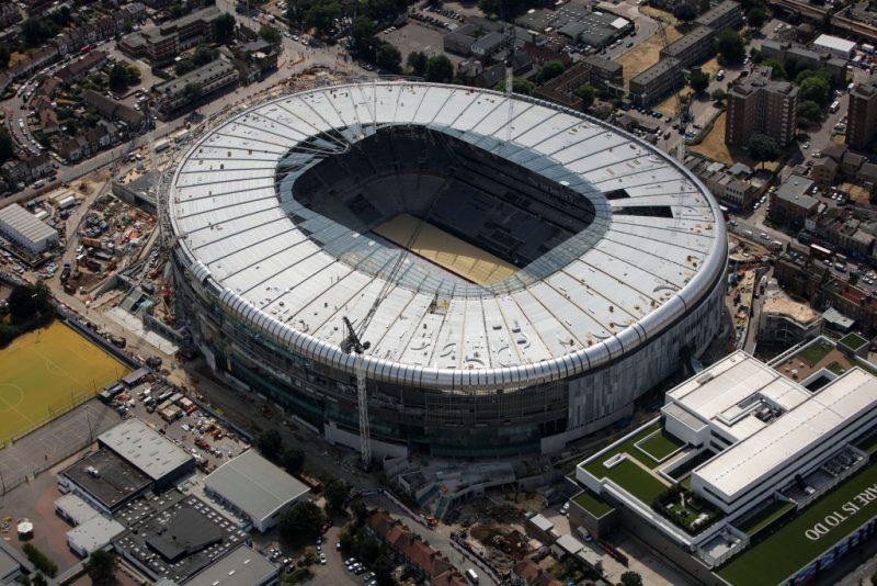 トッテナム、新スタジアムオープンを安全上の問題で延期へ…早くて10月下旬か