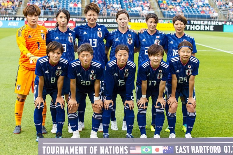 なでしこ、アジア大会臨む18選手...