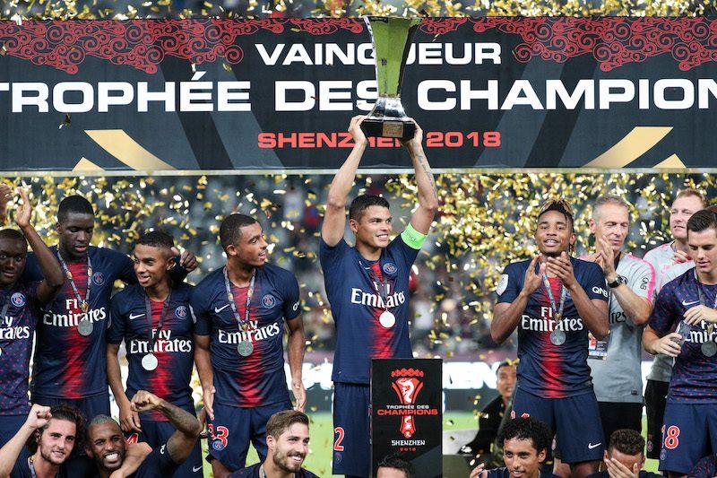 トゥヘル新監督が初タイトル獲得! PSG、スーパーカップで4得点圧勝