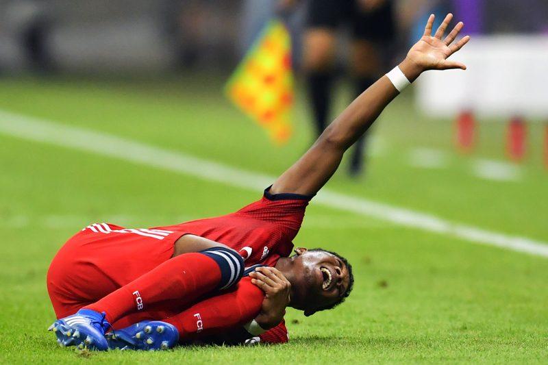 左ひざ負傷のバイエルンDFアラバ、大事には至らず…スーパー杯で途中交代