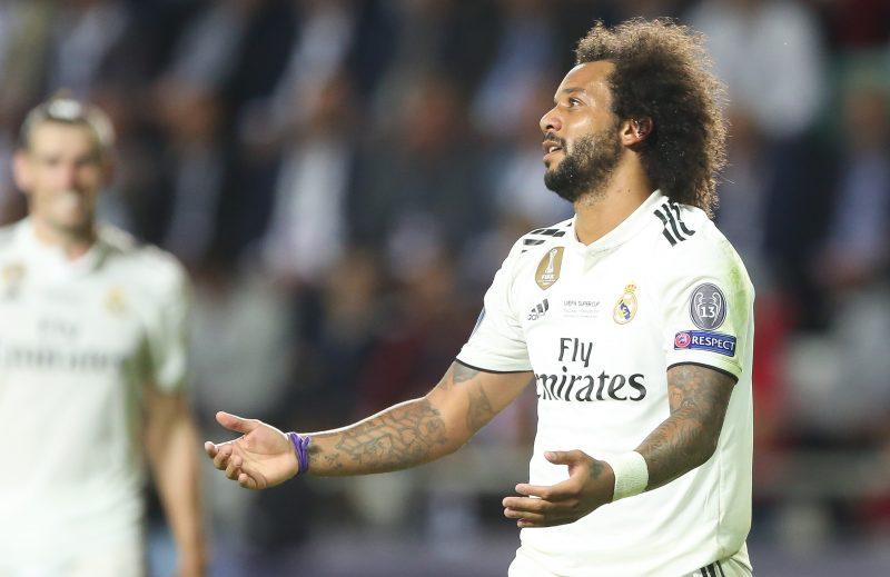 UEFAスーパー杯で敗れたレアル、マルセロ「アトレティコは優勝に値した」