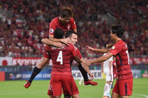 ●鹿島、準々決勝ファーストレグを完封勝利! 初のベスト4に向け一歩前進