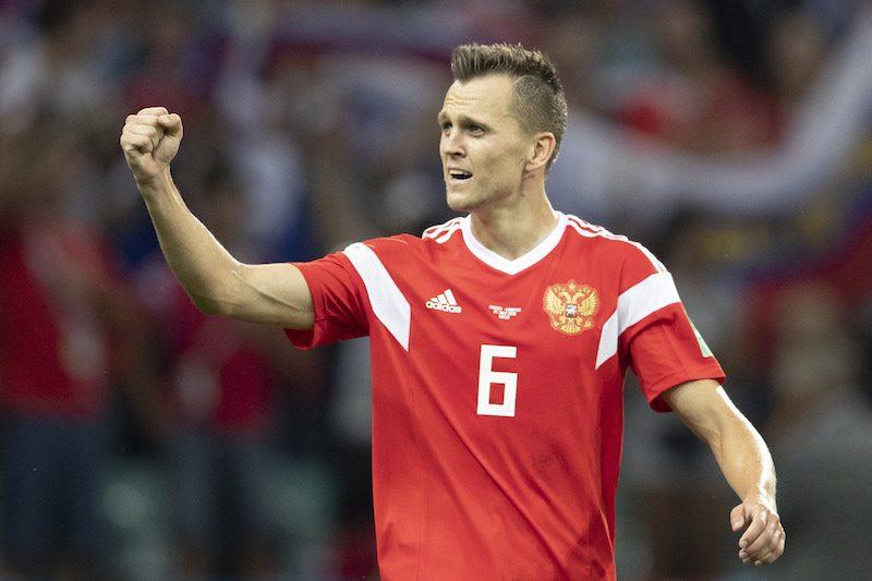 バレンシア、ロシア代表MFチェリシェフをレンタルで獲得…W杯では4得点