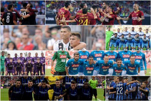 ●セリエA 18-19シーズン「全クラブ戦力分析」