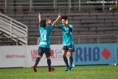 ●アルビ新潟S、RHBシンガポールカップ準決勝進出…ホーガンに完封勝利