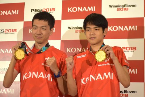 ●金メダル獲得のウイイレ日本代表が会見…杉村選手「正直、悔しさも」 相原選手「集大成になった」