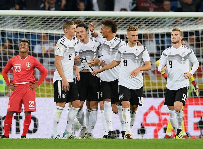 ドイツ、親善試合でペルーに逆転...