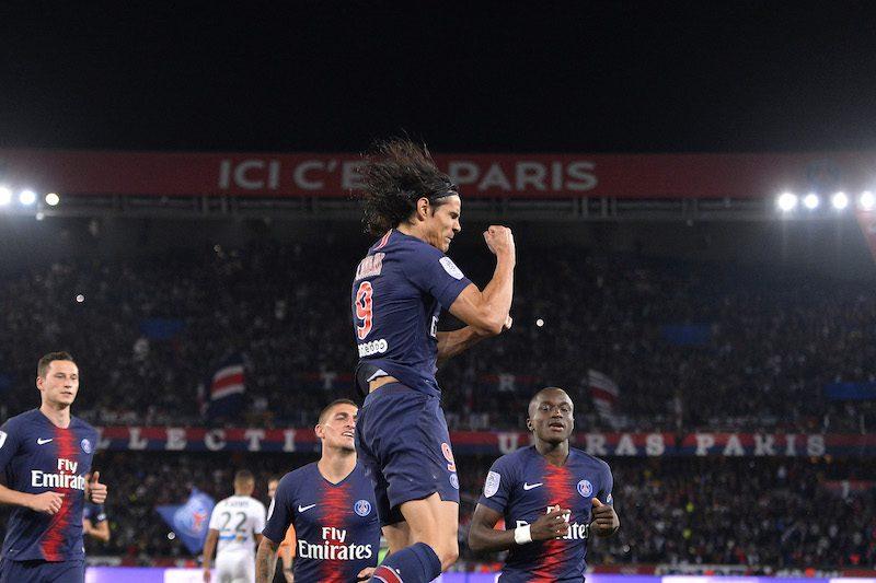 PSGが開幕5連勝! ネイマール&ムバッペ不在もカバーニが1得点1アシスト