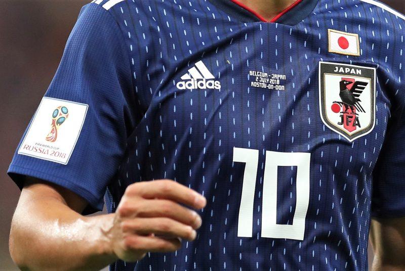 「サッカーユニフォーム 日本代表 2018」の画像検索結果