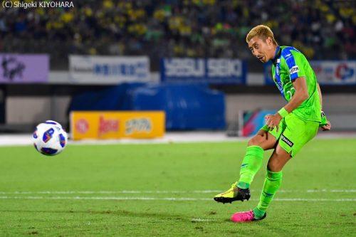 YBC Levain 貅匁アコ蜍・nd 20181014 Shonan vs Kashiwa Kiyohara21(s)
