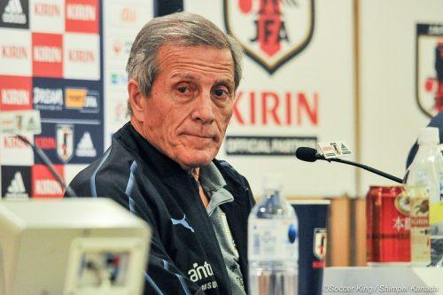 ●タバレス監督「日本は技術に優れたサッカーをする」…若手の起用も示唆