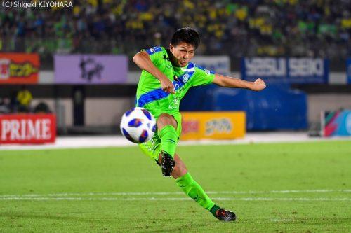 YBC Levain 貅匁アコ蜍・nd 20181014 Shonan vs Kashiwa Kiyohara12(s)