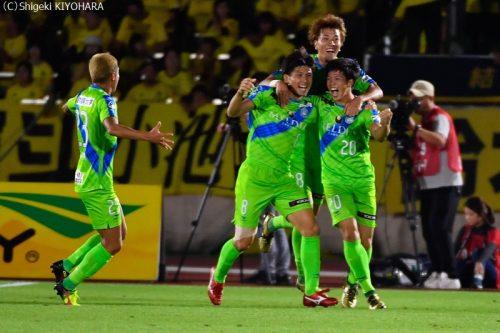 YBC Levain 貅匁アコ蜍・nd 20181014 Shonan vs Kashiwa Kiyohara8(s)