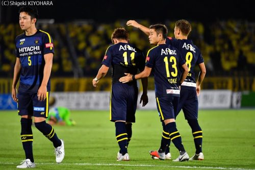 YBC Levain 貅匁アコ蜍・nd 20181014 Shonan vs Kashiwa Kiyohara26(s)