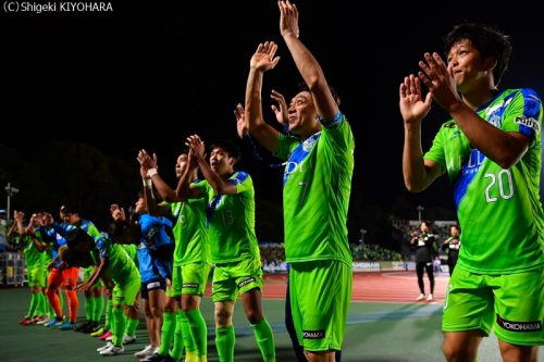 YBC Levain 貅匁アコ蜍・nd 20181014 Shonan vs Kashiwa Kiyohara29(s)