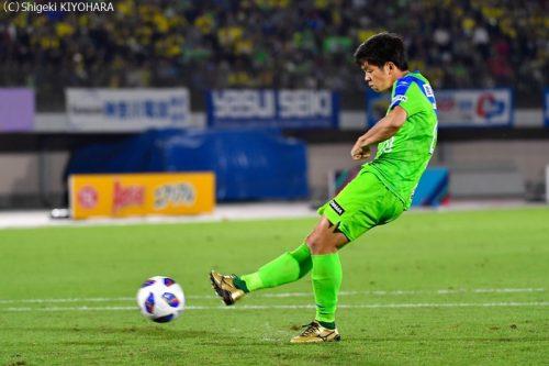 YBC Levain 貅匁アコ蜍・nd 20181014 Shonan vs Kashiwa Kiyohara17(s)