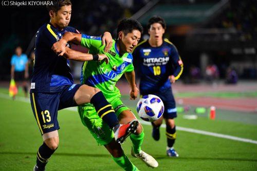 YBC Levain 貅匁アコ蜍・nd 20181014 Shonan vs Kashiwa Kiyohara7(s)