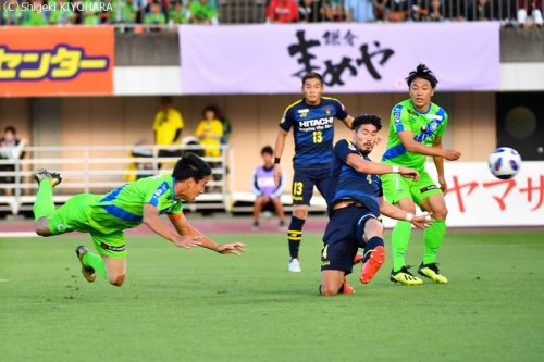 YBC Levain 貅匁アコ蜍・nd 20181014 Shonan vs Kashiwa Kiyohara1(s)
