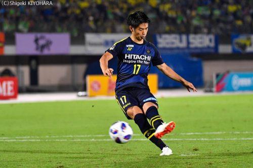 YBC Levain 貅匁アコ蜍・nd 20181014 Shonan vs Kashiwa Kiyohara16(s)