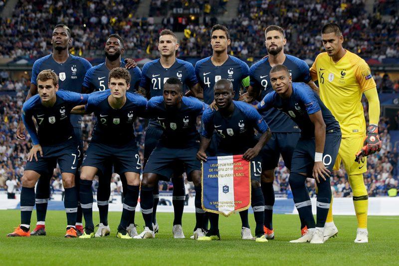 W杯王者フランス、ポグバやムバッペら23名招集…ホームでドイツと激突