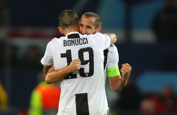 ボヌッチとキエッリーニ