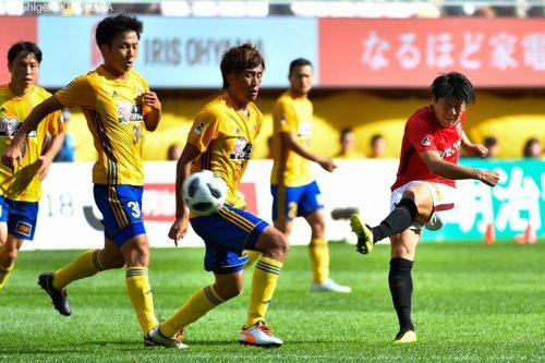J1 20181007 Sendai vs Urawa Kiyohara12(s)