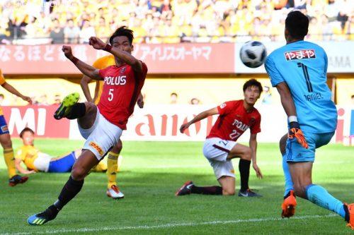 J1 20181007 Sendai vs Urawa Kiyohara22(s)
